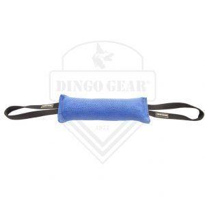 Motivador con doble asa de tela francesa azul Dingo Gear.