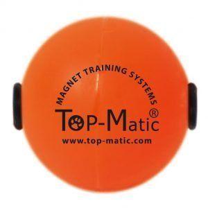 Pelota naranja de TopMatic