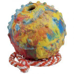 Gappay pelota de 7cm con cuerda para perro
